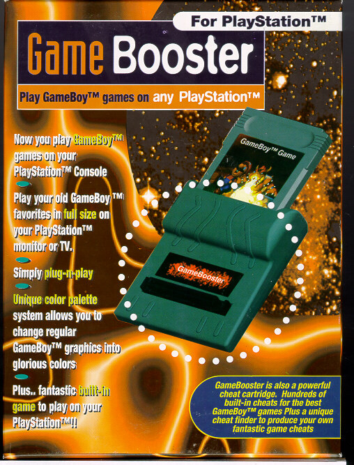 Playstation Gamebooster