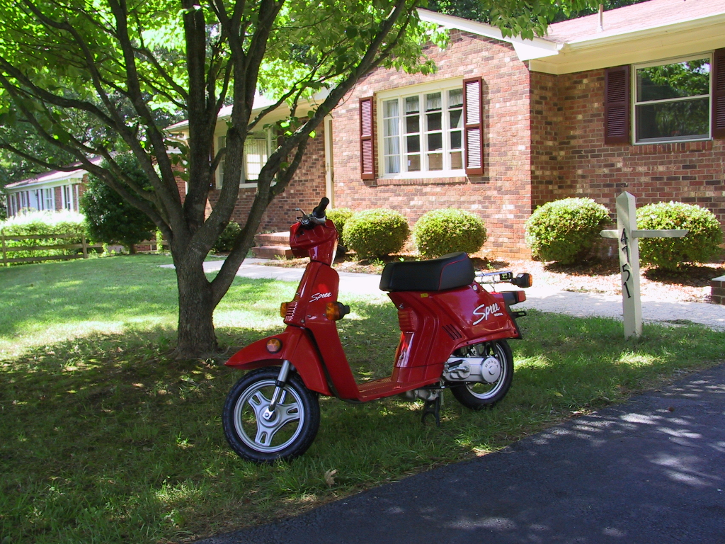 1986 Honda Spree For Sale